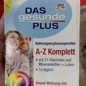 Витаминный комплекс A-Z Depot с 22(Германия) 100 шт