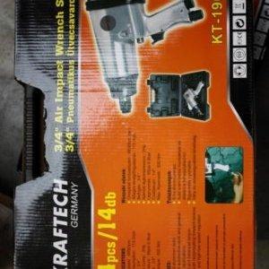 1 пневм.ударный гайковерт KRAFTECH тип KT-190